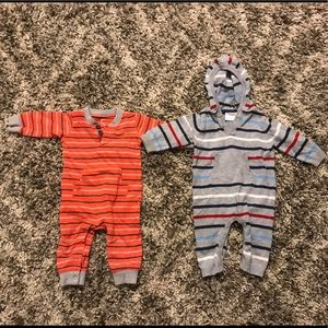 Other - Set of 2 6-9mo Boys' Winter Bodysuits